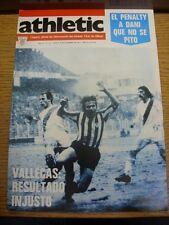 08/12/1977 Athletic Club Bilbao: Athletic Official Organ Of Information - No.132