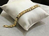 Esclusivo bracciale uomo oro giallo 750 % 18 kt - Yellow gold man bracelet 18 kt