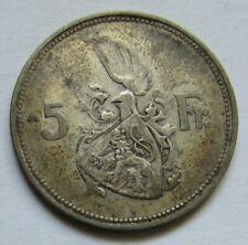 Luxembourg - 5 francs 1929 en argent