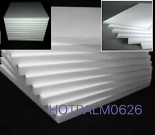 "10 Pcs Styrofoam Sheets (6"" X 8"" X 1/2"") - Craft Quality Sheets"