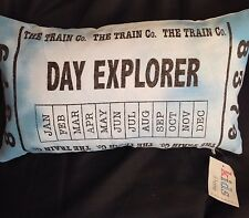 ACCESSORIES FOR CHILDREN'S BEDDING.NOVELTY CUSHIONS.TRAINS FILLED CUSHION.