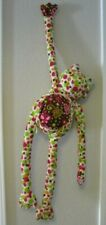 Mary Meyer since 1933 - Long Plush Polka Dot Frog with Floral/Butterfly Chest