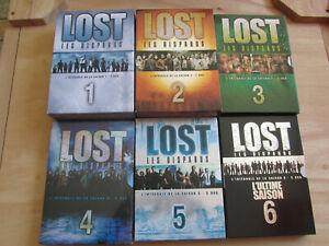 LOST Les Disparus - Intégrales des Saisons 1 à 6 - Lot de 6 Coffrets DVD