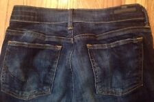 citizens of humanity 28 Women's Dark Denim Jeans Bootcut Petites (A1)