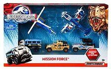 New Sealed Matchbox Jurassic World Mission Force 5-Pack (Park) Die-Cast