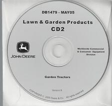 JOHN DEERE Lawn Garden Tractors Sabre Scotts J. Deere16 Technical Manuals on CD