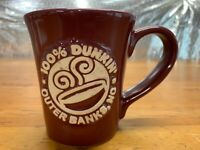 Dunkin' Donuts 2015 3D Embossed Coffee Cup Mug Outer Banks NC New
