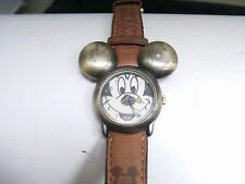 MICKEY MOUSE WATCH  QUARTZ MOVEMENT  MADE IN SINGAPORE
