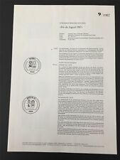 BRD + BERLIN MINISTERIUM ANKÜNDIGUNGSBLATT 1987/9 JUGEND BERUFE z2991