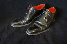 "Jeffery West ""Dashwood"" Winklepickers Mens Black Leather Shoes (UK Size 9)"