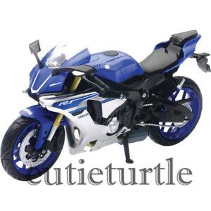 New Ray 2016 Yamaha YZF R1 Bike Motorcycle 1:12 Model 57803 A Blue