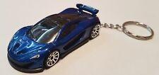 Hotwheels mclaren p1 keyring diecast car