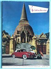 PORSCHE Lifestyle Magazin Zeitschrift Christophorus Nr.22/1956 Freunde d. Hauses