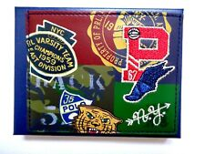 New Ralph Lauren Polo P Wings Graphic  Leather Wallet & Card Case