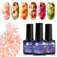 MTSSII 7ml Blossom Holographic Gel Nail Polish Soak off UV/LED Gel Manicure New