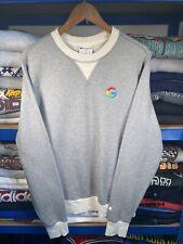 2014 Champion Google Logo Sweatshirt Grey Small