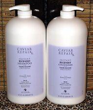 Alterna Caviar Repair Rx Shampoo Conditioner 2 Liter Set 67.6 oz Half Gallon
