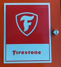 FIRESTONE Sticker Decal 7-10 ANNO Vinly 190mm x 150mm