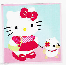 """4"""" HELLO KITTY  DOG CHARACTER  PREPASTED WALL BORDER CUT OUT"""