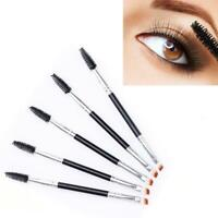 Eyebrow Brush Dual-ended Duo Brow Eyeliner Angled Cut L2I9 Spoolie H BrushM W5G9
