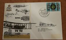 First Day Cover: Closure of Raf Andover 10th June 1977. Signed.