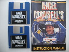 Nigel Mansell's World Championship Amiga 1200 AGA A1200 UNTESTED