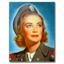 "~Post Card~""The Lady In Military Service Uniform""    (B304)"