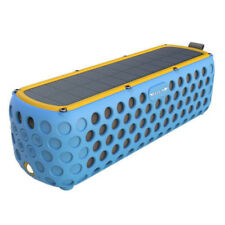 UK Solar Wireless Bluetooth Speaker Waterproof 30 Hour Playtime Built-in MIC