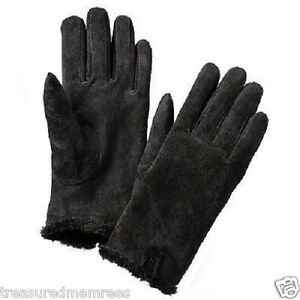 ISO Isotoner Ladies Microsuede Gloves ~ Size Large ~ Black ~ NWT MSRP $38.00