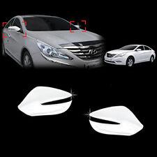 Chrome Side Mirror LED Cover Trim 2p For 13 Hyundai YF Sonata ix45