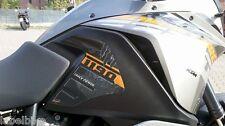 2 ADESIVI 3D PROTEZIONI LATERALI SERBATOIO compatibili x MOTO KTM 1190 ADVENTURE