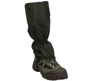 WATERPROOF MOUNTAIN GAITERS mens black walking trouser gator hiking boot cover