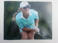 BELEN MOZO SIGNED AUTOGRAPHED 8X10 PHOTO LPGA HOT SEXY PSA JSA