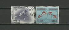 Olympiade, Olympic Games - Indien - 538-539 ** MNH 1972