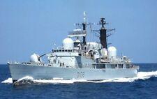 ROYAL NAVY TYPE 42 DESTROYER HMS CARDIFF IN MEDITERRANEAN IN 2005