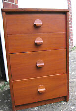 1960s Stag small chest of drawers teak furniture John and Sylvia Read lamp table