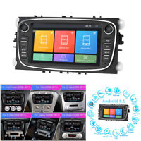 """7"""" Android8.1 Car Stereo Radio GPS Multimedia Player For Ford Focus S-Max Mondeo"""