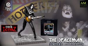 Knucklebonz Rock Iconz - Kiss Hotter than Hell - The Spaceman - Limited Statue