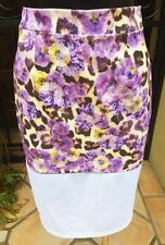 Below Knee Straight, Pencil Hand-wash Only Floral Skirts for Women