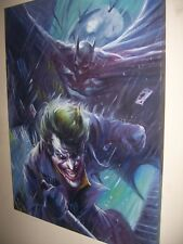 Batman Joker painting 30x20 inches in size. UNFRAMED. Framing available.