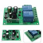 2 Canali 220V 10A Wireless RF Relay Relè Telecomando Switch Ricevitore 433MHz