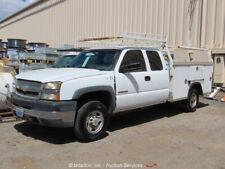 2003 Chevrolet Silverado 2500HD Utility Truck A/T Cold A/C 6.0L V8 -Parts/Repair