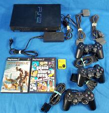 Sony Play Station 2 PS2 Playstation Lot GTA Vice City God of War & Memory Card