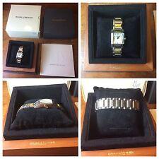 Baume & Mercier Women's 8600 Diamant Steel and 18k Gold Watch