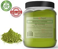 1.5lb Moringa oleifera Leaf Powder 100% Pure Natural Superfood 24 oz. JAR