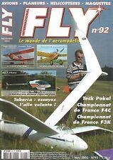 FLY N°92 PLAN : EASTBOURNE / COUGAR / TIGER BIPE 40 / ECO 8 IKARUS / MDS 148