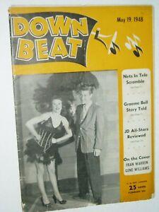 DOWNBEAT Jazz magazine....(UK)....vintage      19th May 1948