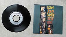 "VINYLE 45T 7"" SP MUSIQUE PROMO / ELTON JOHN ""CANDLE IN THE WIND"" 1987 / 870063-7"