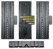"2pc Aurora Slot Car 9"" STRAIGHT 4-Screw TERMINAL TRACK Lock & Joiner 1520 Unused"