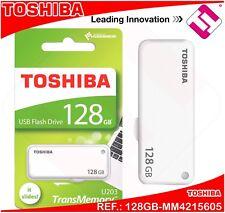 128GB PENDRIVE TOSHIBA MEMORIA 2.0 PEN DRIVE LAPIZ USB RETRACTIL THN-U203W1280E4